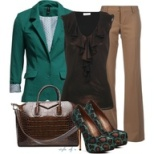 Business Casual - Green
