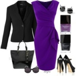 Business Casual - Purple