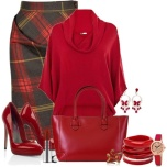 Business Casual - Red