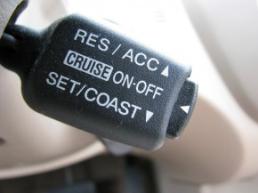 Operating on cruise? Shake thingsup!